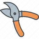 equipment, garden, gardening, pruning shears, secateurs icon