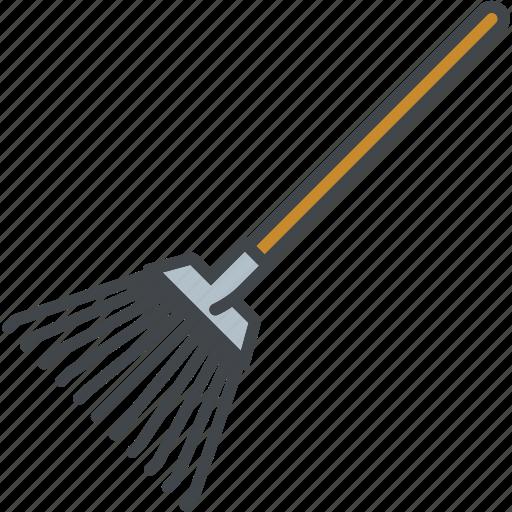 Equipment, garden, gardening, rake, tool icon - Download on Iconfinder