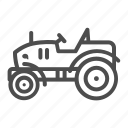 tractor, agriculture, farm, vehicle, transport, gasoline