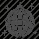 ball, disco, music, mirror, glass, sphere