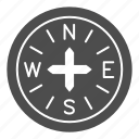 compass, navigation, travel, north, direction, arrow