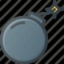 blast, bomb, boom, explosion, war icon