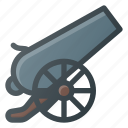 blast, canon, fire, shoot, war icon