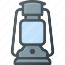 camp, flame, gas, lamp, light icon