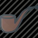 pipe, smoke, tabaco