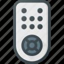 control, controller, remote, television, tv icon