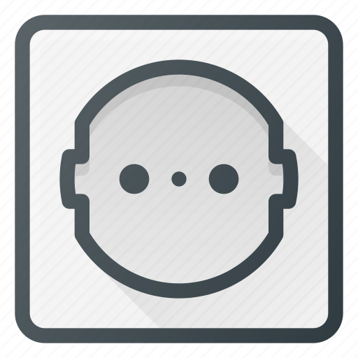 electric, electricity, electronic, plug, socket, volt icon