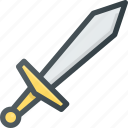 cut, fight, medieval, sword, war icon