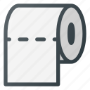 paper, roll, toilet, wc icon