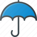 protect, rain, umbrella, weather icon