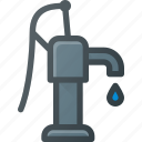 pressure, pump, water, waterpump icon