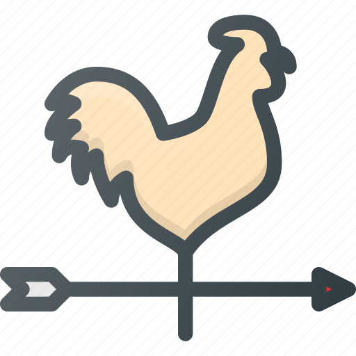 blow, cock, direction, wind icon