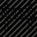 block, construction, object, road