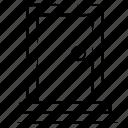 door, object, stairs