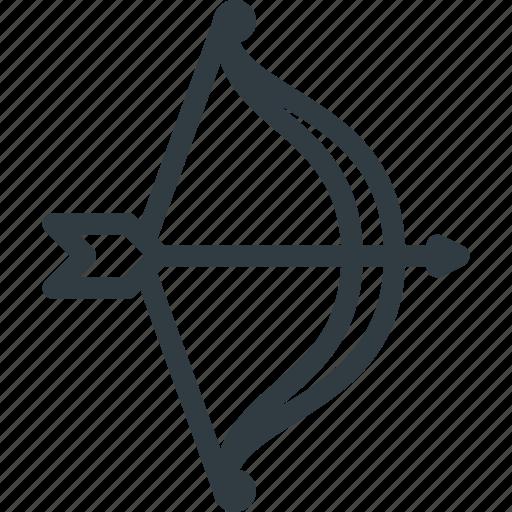 archer, archery, arrow, bow, shoot, sport icon