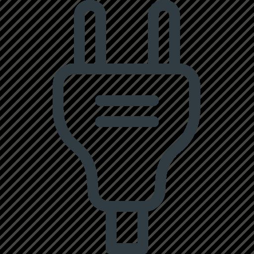 electric, electronics, plug, plugin, socket icon