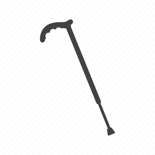 Hand, home, nursing, old, senior, stick, walking icon - Download on Iconfinder