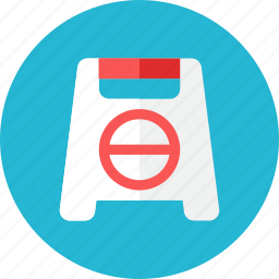 block, sign icon
