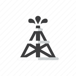 oil, rig icon