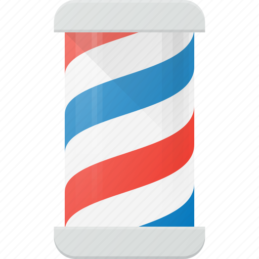 barber, hypster, pole, shop icon