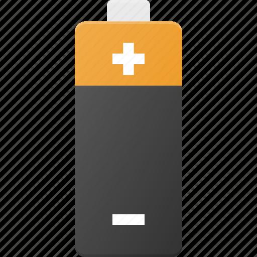 aa, aaa, accu, battery, power icon