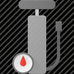 car, pressure, pump, tool, tyre icon