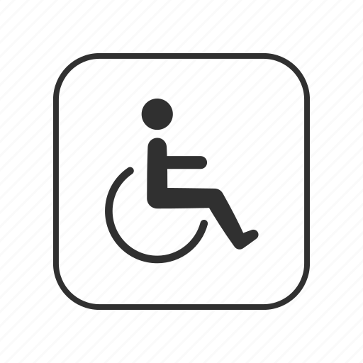 handicap, handicap parking, person with disability, pwd, pwd button, wheelchair, wheelchair button icon