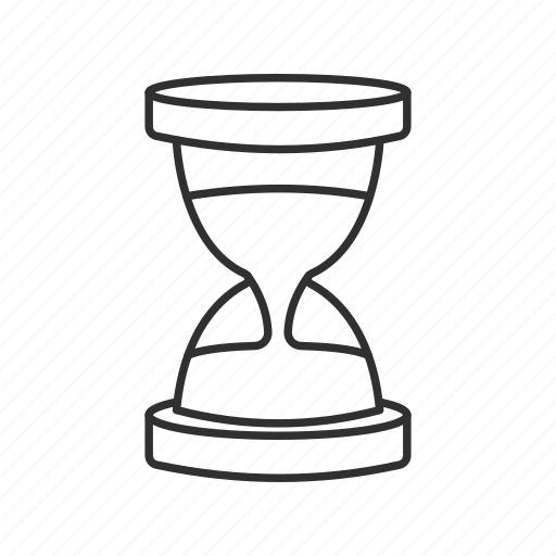 clock, hour, hourglass, late, sand, sandglass, time icon