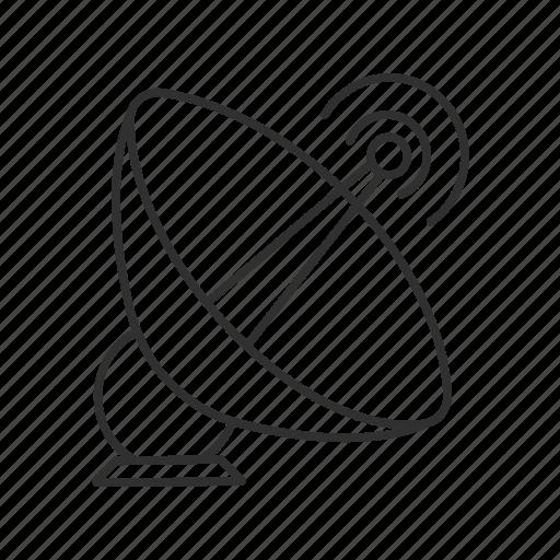 antenna, data transmission, emoji, satellite, satellite antenna, satellite dish, signal icon