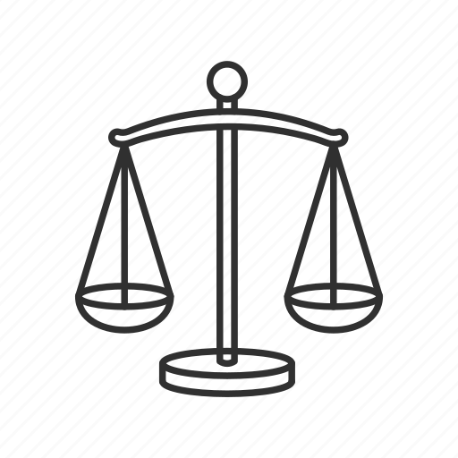 balance, emoji, justice, libra, scale, weighing scale, weight icon