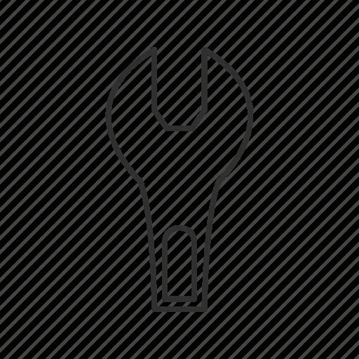 bolt, emoji, machine, mechanic, mechanical tool, tool, wrench icon