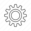 cogs, emoji, gear, machine, settings, system, work icon