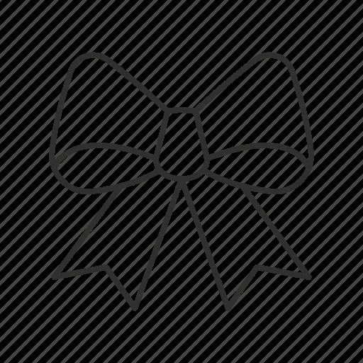 cloth, decor, decoration, gift, present, ribbon, tie icon