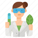 avatar, biologist, occupation, scientist icon