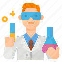 avatar, chemist, occupation, scientist icon