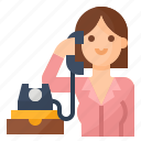avatar, business, clerk, occupation icon