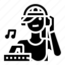 avatar, dj, music, occupation icon