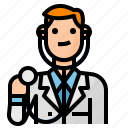 avatar, doctor, hospital, occupation icon