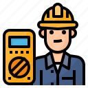 avatar, electrician, occupation, technician icon