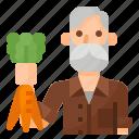 farming, avatar, gardener, occupation icon