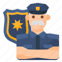 avatar, occupation, police, policeman icon