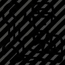 avatar, mechanic, occupation, service icon
