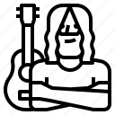 avatar, music, musician, occupation icon