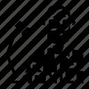 avatar, literature, occupation, writer icon