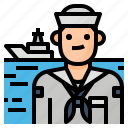 avatar, crew, occupation, sailor icon