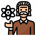 avatar, occupation, professor, scientist icon