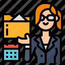 administrative, avatar, occupation, secretary