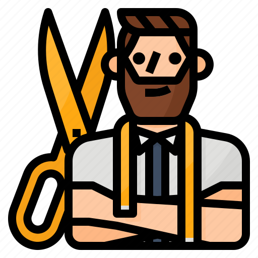 avatar, occupation, professional, tailor icon