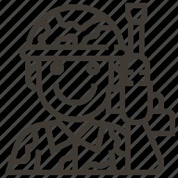 avatar, gun, military, occupation, soldier icon