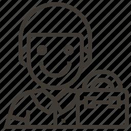 avatar, briefcase, business, business man, man, occupation icon
